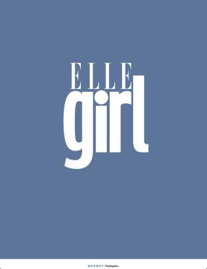 Elle Girl Japan Feb 14