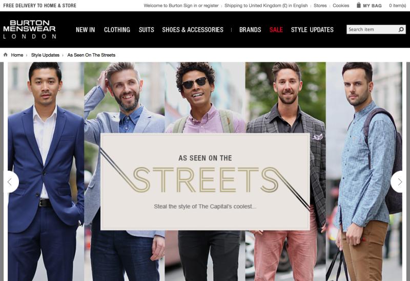 Burton Menwear street style